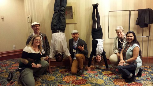 #14NTC Headstands - featuring #net2 & #nten organizers
