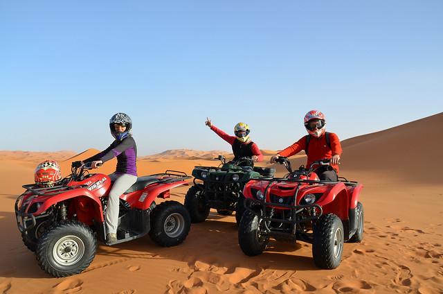 Quads por el Sahara