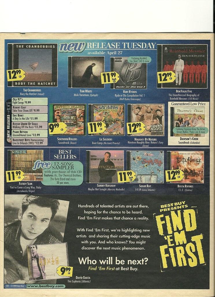 Best Buy Deals for the week of April 25, 1999. - DVD Talk ...