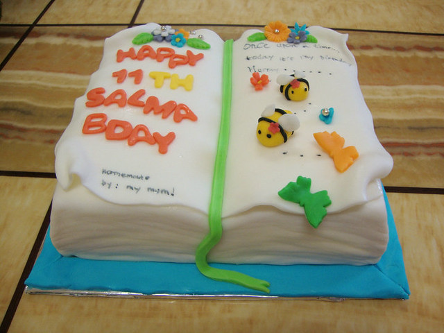 Book Shaped Cake Images : Book Shaped Cake For SALMA Birthday Flickr - Photo Sharing!