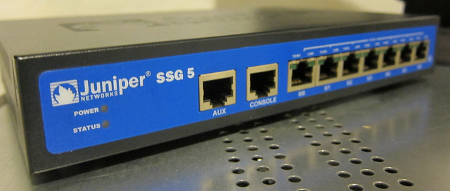 Devices suitable for SNMP pentesting: Juniper SSG5