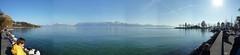 Lausanne Lakeside Panorama