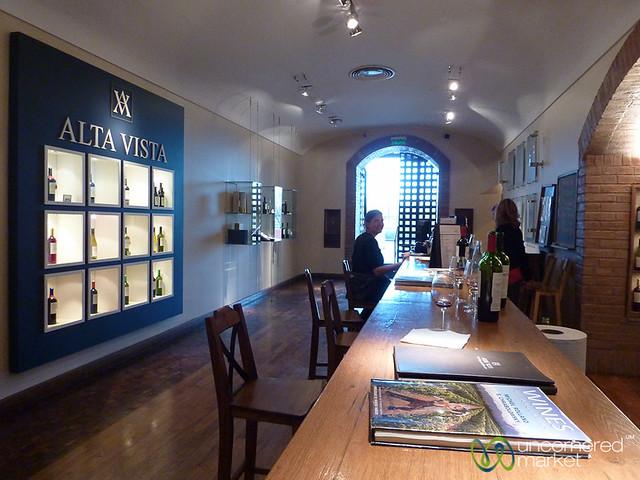 A Round of Wine Tasting at Alta Vista Winery - Mendoza