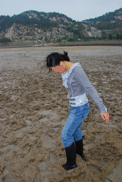 mud ridingboots girl | Flickr - Photo Sharing!