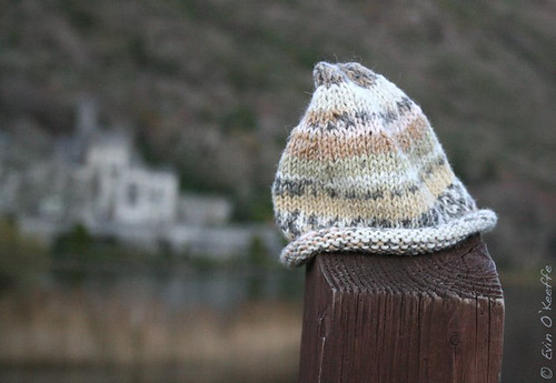 Fair Isle Newborn Hat at Kylemore Abbey