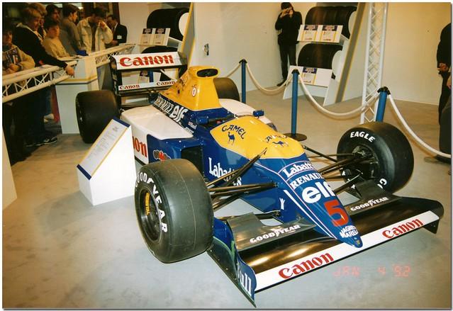1990 Williams Renault FW13B F1. 1992 Autosports International NEC Birmingham.
