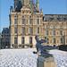 Le jardin des Tuileries sous la neige (Paris) ©dalbera