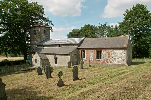 Horkstow Church - Summer by D H Wright