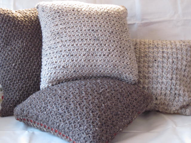 Crochet Patterns Pillows : Crochet Pillow Backs Flickr - Photo Sharing!
