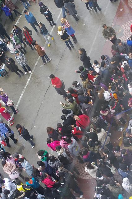 CP7魔都同人祭的排队