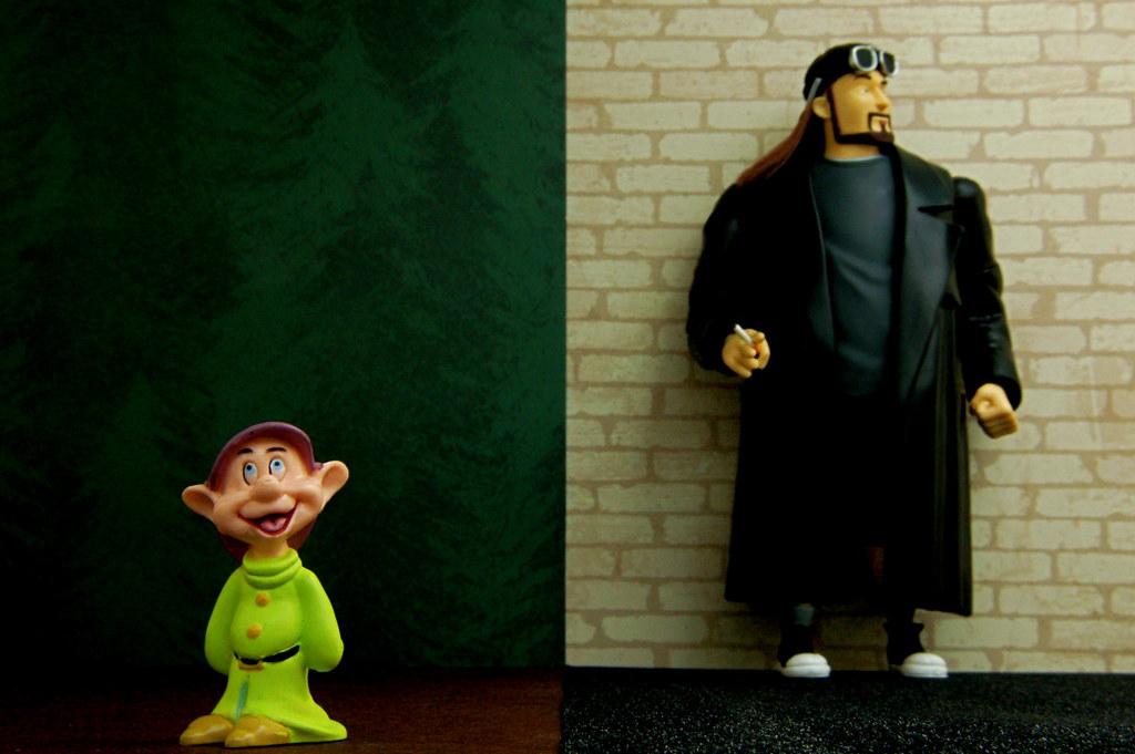 Dopey vs. Silent Bob (349/365)