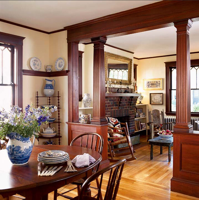 bungalow dining room   Bungalow Restorations ~ Sweet Sunday Mornings