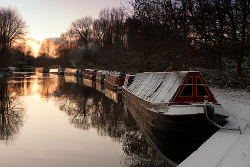 Hibernation (Grand Union Canal),  Rickmansworth