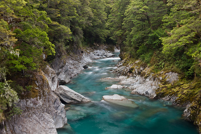 Haast New Zealand  City new picture : blue pools of haast new zealand exposure 8 seconds more new zealand ...