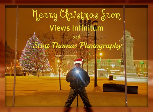 santa christmas longexposure decorations selfportrait snow reflection tree window hat night lights nikon flash tripod sb600 28300mm picnik vr d700 yourphototips