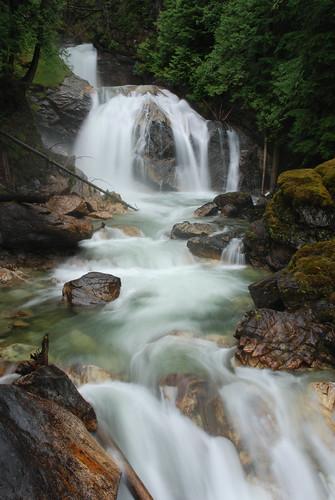 water long exposure bc britishcolumbia falls googleearth westcoastvacation 93793499n00