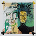 Basquiat and Warhol Collaboration, Self Portrait by Ian#7