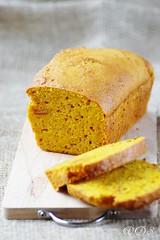 Pumpkin, orange and amaretti cake