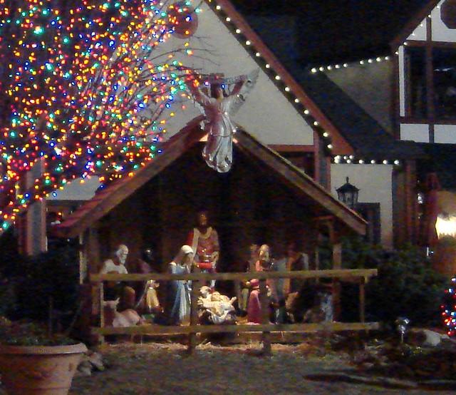 christmas place nativity pigeon forge tn flickr. Black Bedroom Furniture Sets. Home Design Ideas
