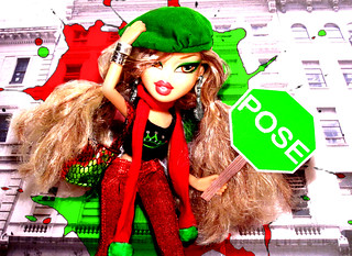 TOP DOLL Complimentary Colors (Green&Red) Cindy Clark