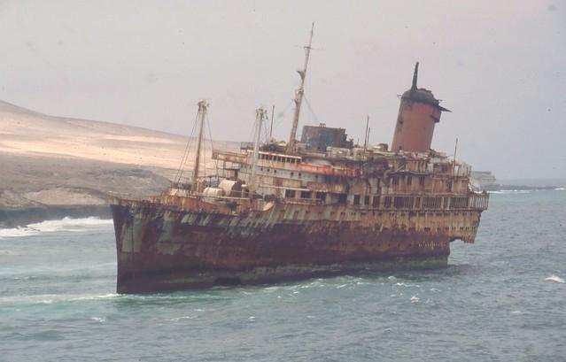 American Star SS America wreck at Fuerteventura