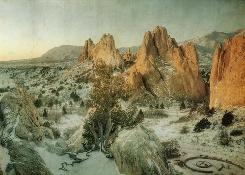 mountains canon vintage landscape sandstone colorado rocks spires gardenofthegods cliffs coloradosprings co textured rockspires texturedlandscape t1i