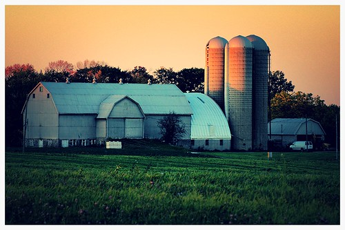 sunset texture barn rural shadows farm niagara silos summery