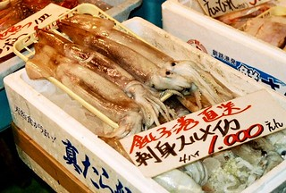 Squid at the Market