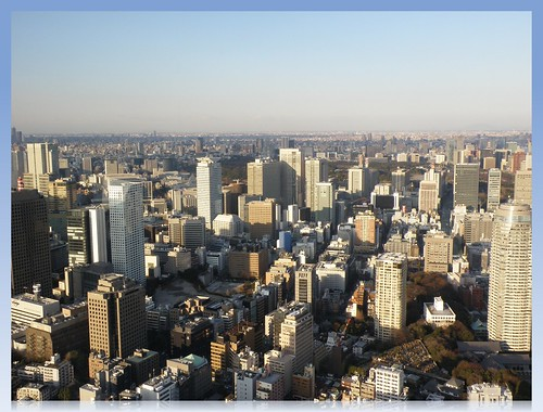 The View from Tokyo Tower Special Observatory (250 m)