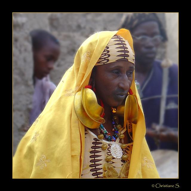 Mali, Fulani woman.