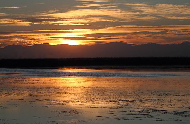 Laguna de Sentiz-Sunset