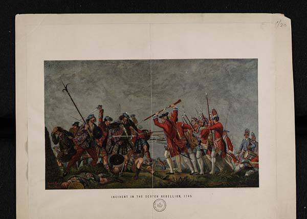 Incident in the Scotch Rebellion, 1745