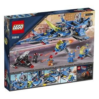 The LEGO Movie 70816 Back