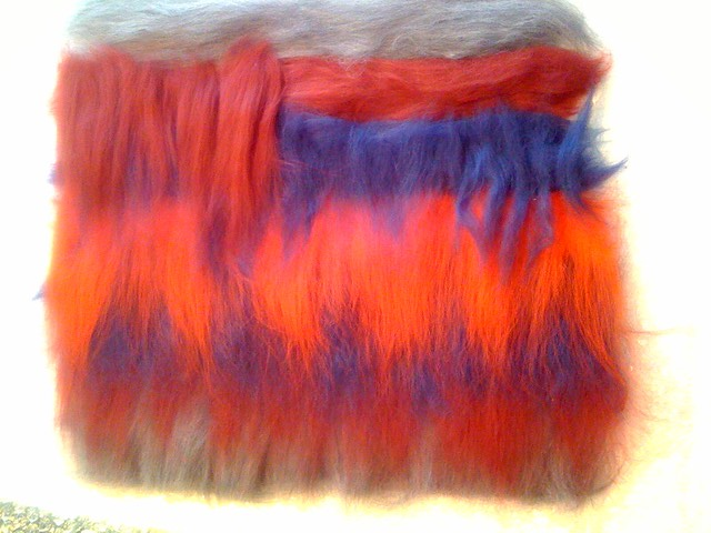 Felting class day 1, photo 1