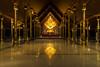 Temple Sirindhorn Wararam Phuproud,artistic, Thailand ,public place