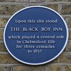Photo of Black Boy Inn, Chelmsford blue plaque