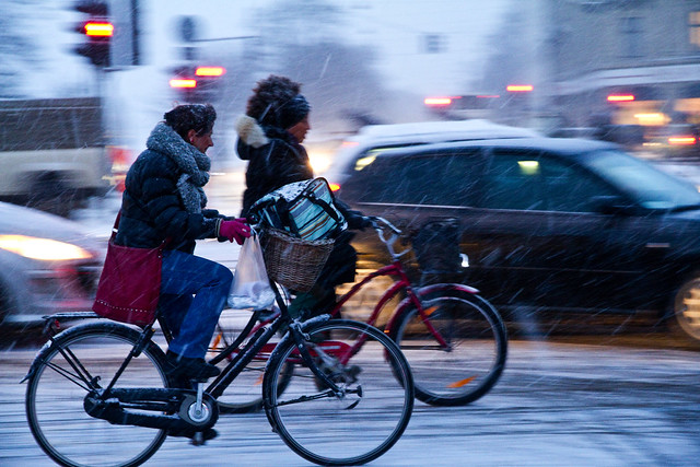 Evening Flow 3 - Cycling in Winter in Copenhagen