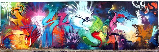 "Graffuturism Update: Art Basel Primary Flight 2010 ""Risk & Smash 137"""