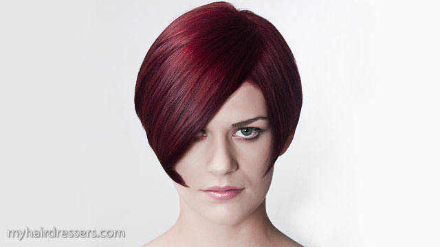 Z Cut Hairstyle: Salon Basic Haircut - Short Graduated Bob