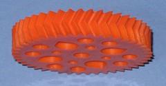 gear, orange,