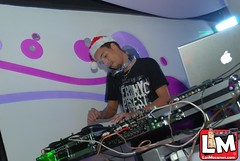 Christmas Shot -Dj Mike @ moccai Glam Club 11/12/2010.