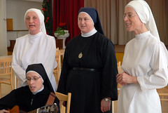 nun, deacon, clergy, woman, female, person,