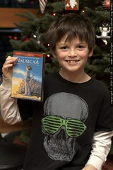 nick with nausicaa of the valley of the wind dvd