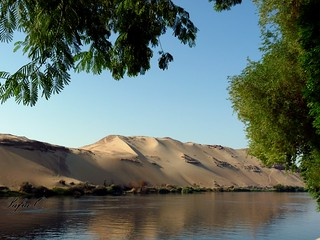 Nature reserver of Aswan