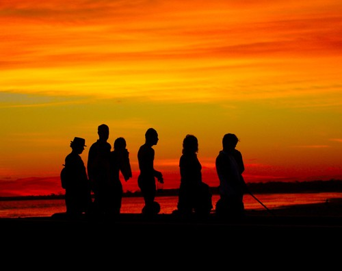 sunset beach australia altona