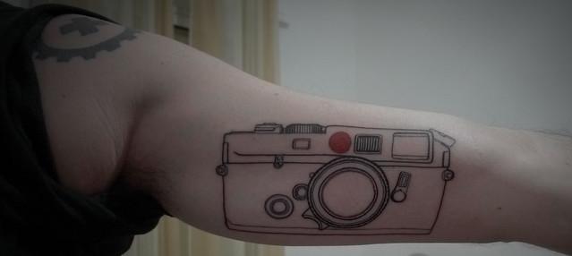leica tattoo