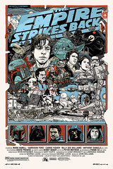 """The Empire Strikes Back"" by Tyler Stout"