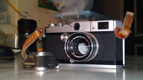 Canon L2, Nikkor-H.C 5cm F2