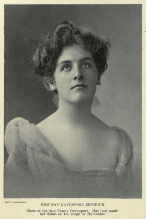 Edwardian Theatre: Miss May Davenport Seymour 1901