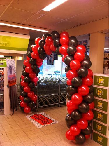 Ballonboog 6m Plus Supermarkt Klaaswaal